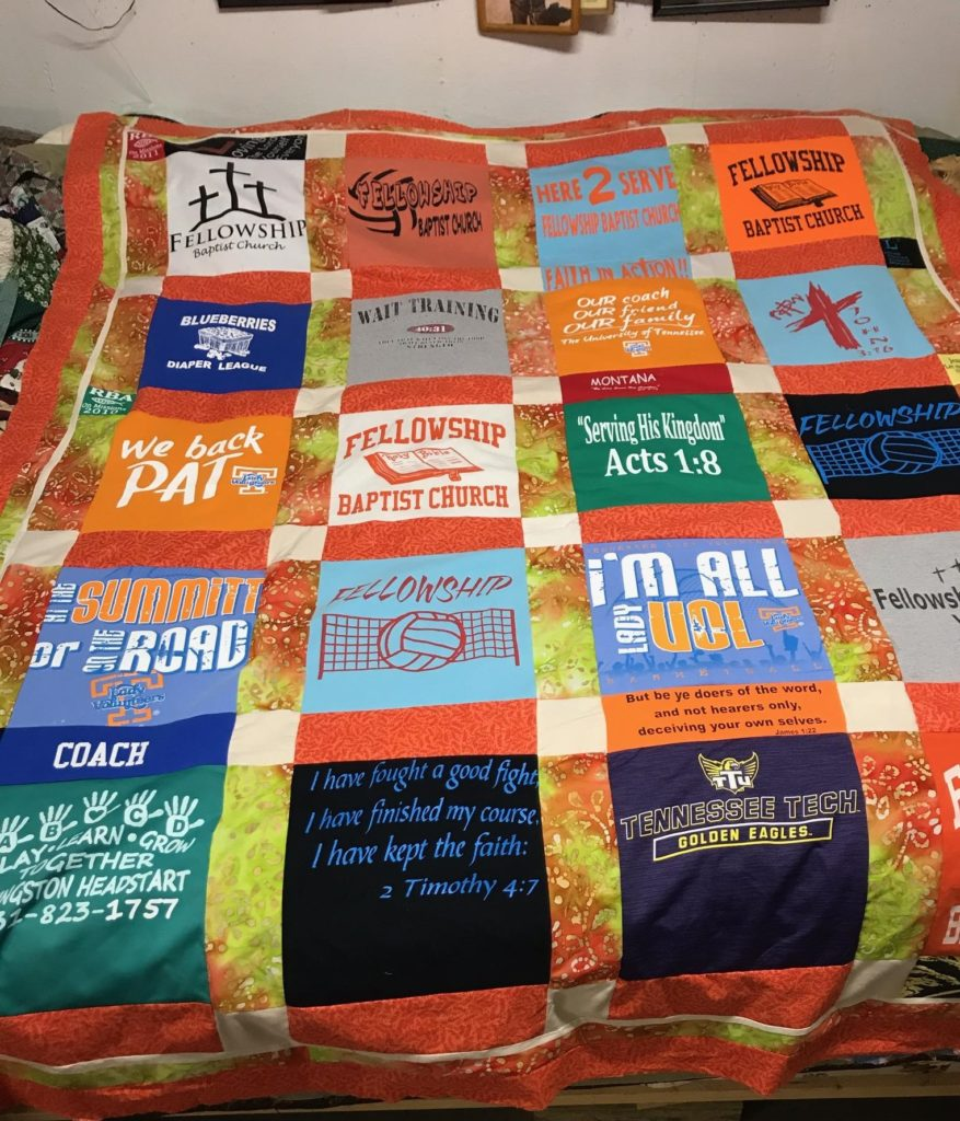 Finished Quilt Penny